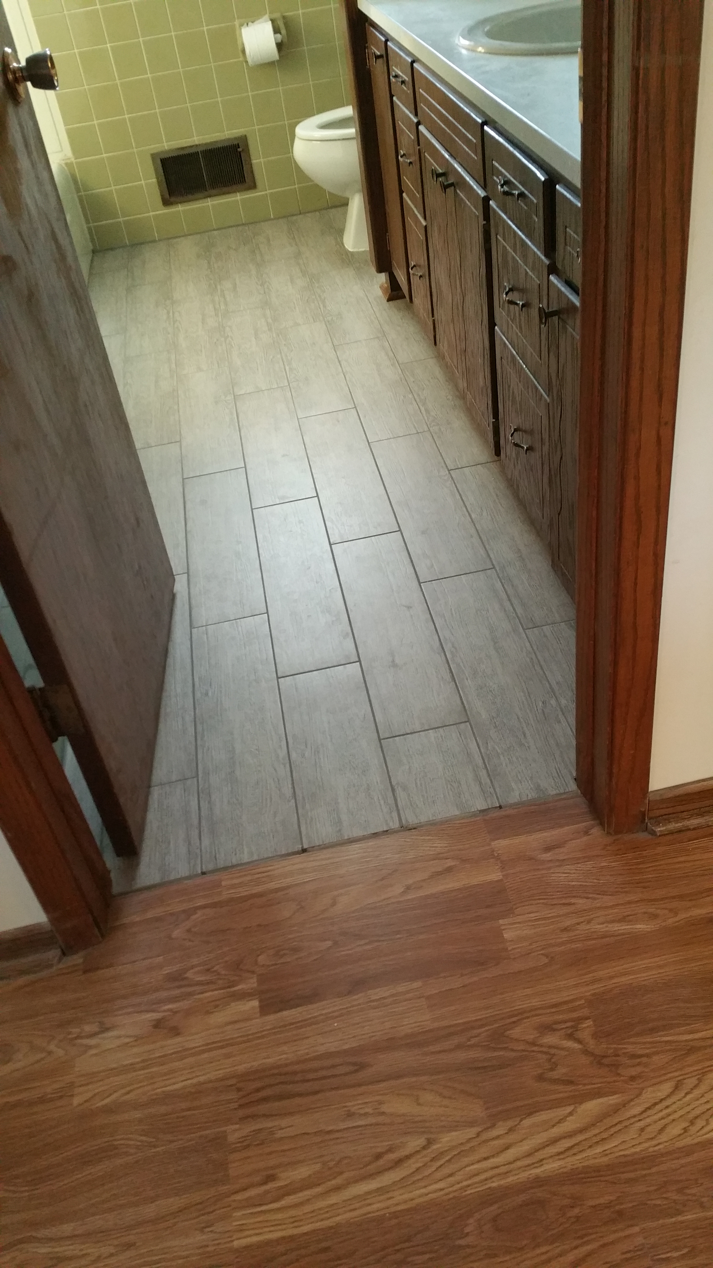 Reviews custom installations inc love the tile floors professional throughout process kathy in office even went above and beyond and helped with some design aspects of my kitchen that had dailygadgetfo Image collections